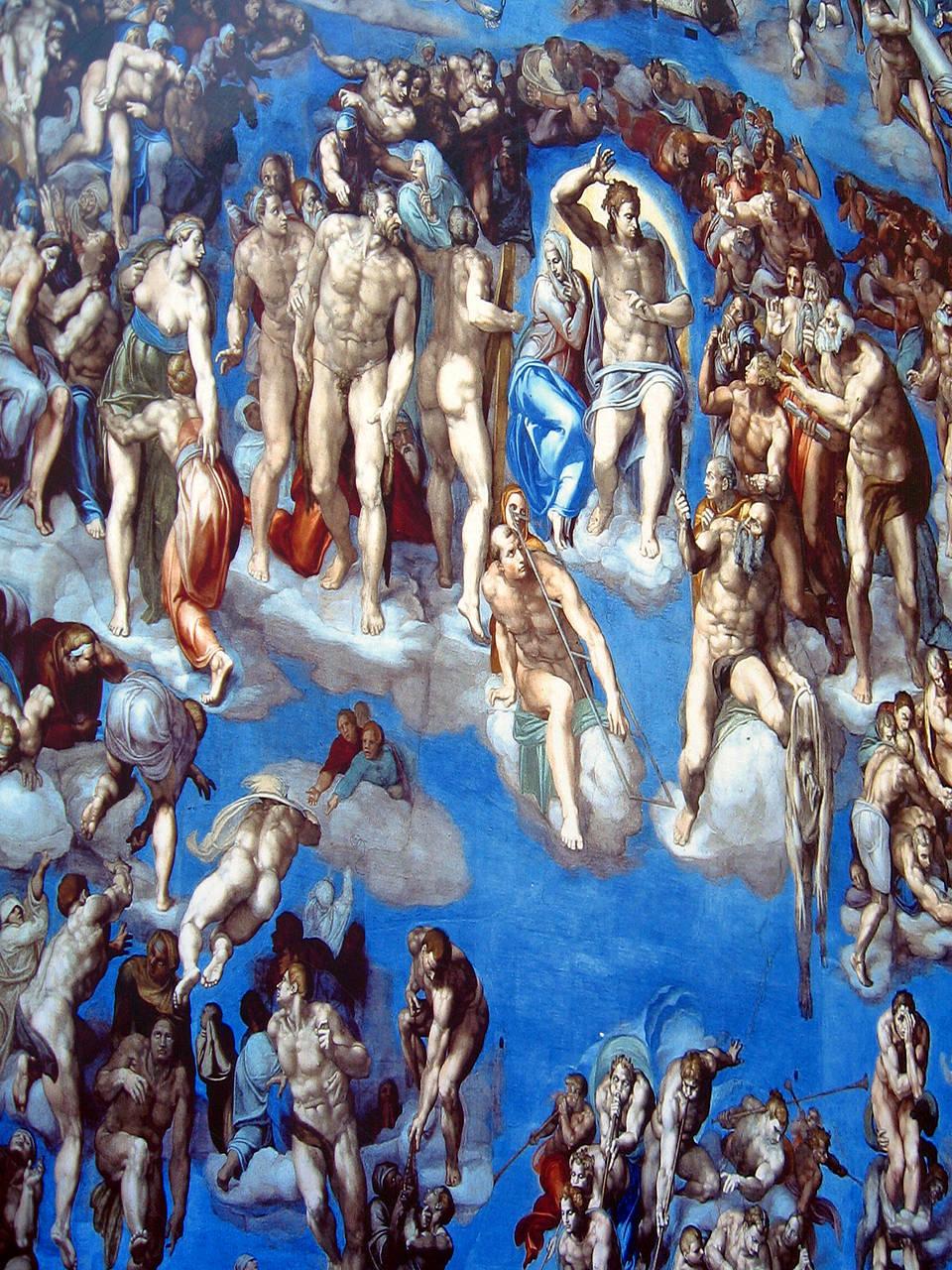 Sixtinische Kapelle  Vatikanstadt  Tipps zu Deckenfresko